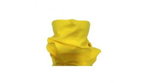 Bragas para el cuello color amarillo