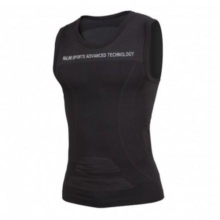 Camiseta sin mangas Nalini Negra Ciclismo