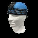 Pañuelo carbono azul