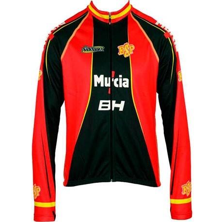 Chaqueta Ciclismo Wuintex España Rojo-Negra