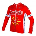 Conjunto ciclismo manga larga Cofidis
