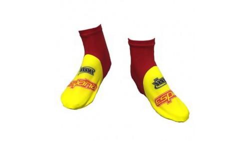 Cubrezapatillas ciclismo Wuintex Rojo-Amarillo